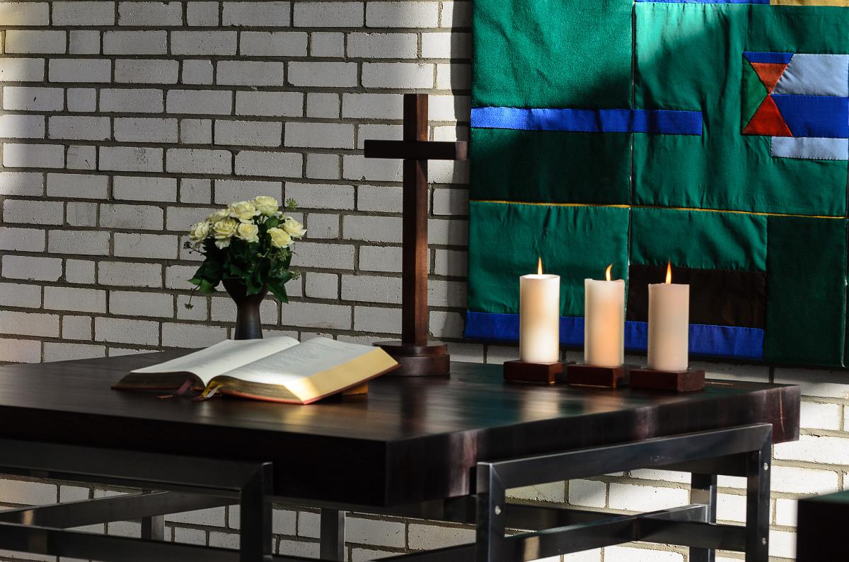 Lukaskirche Altar