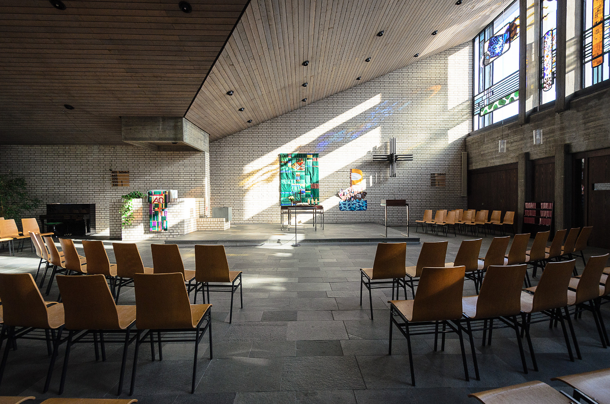 Lukaskirche Altarblick