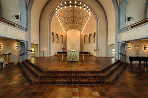 Erlöserkirche Altarblick