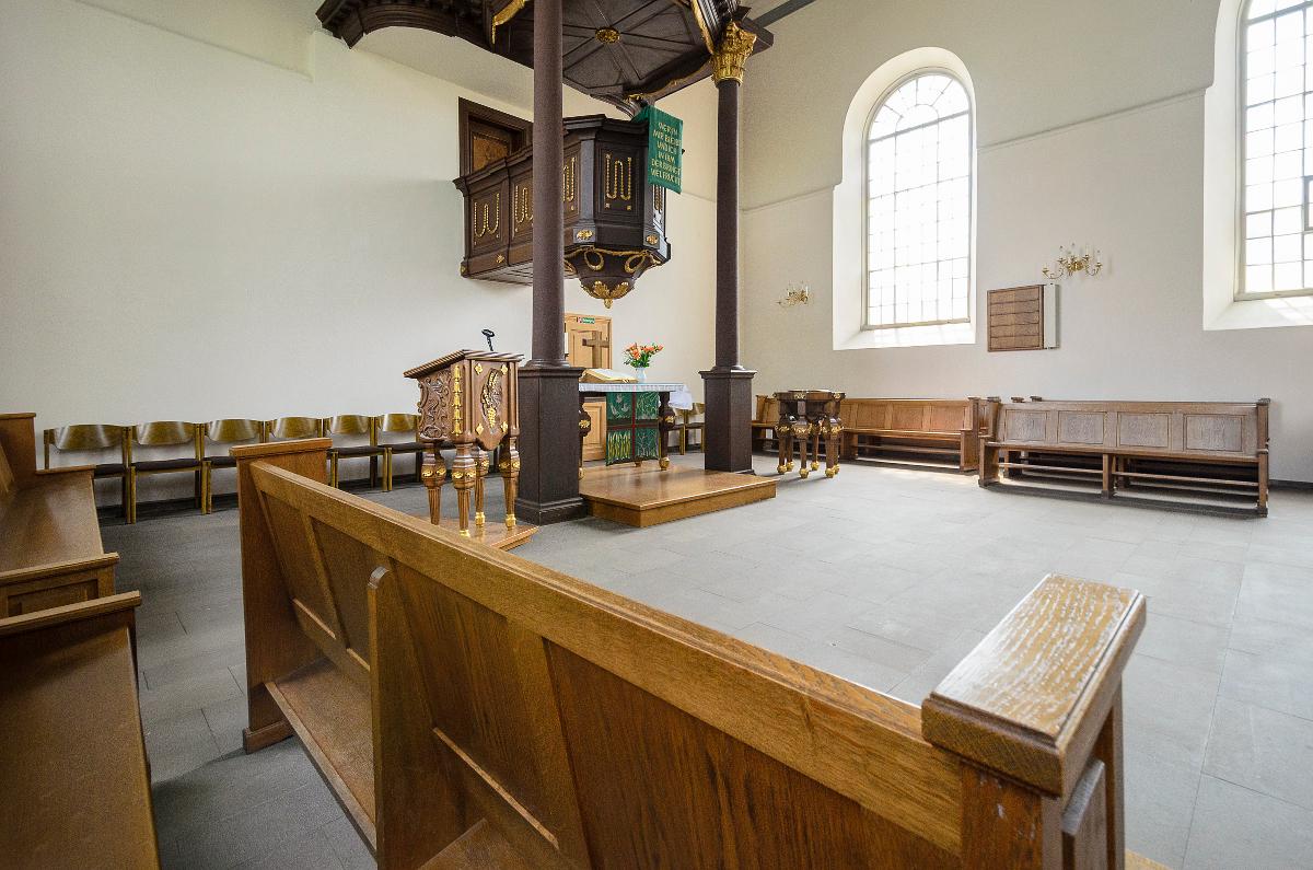 Martin-Luther-Kirche Innenraum