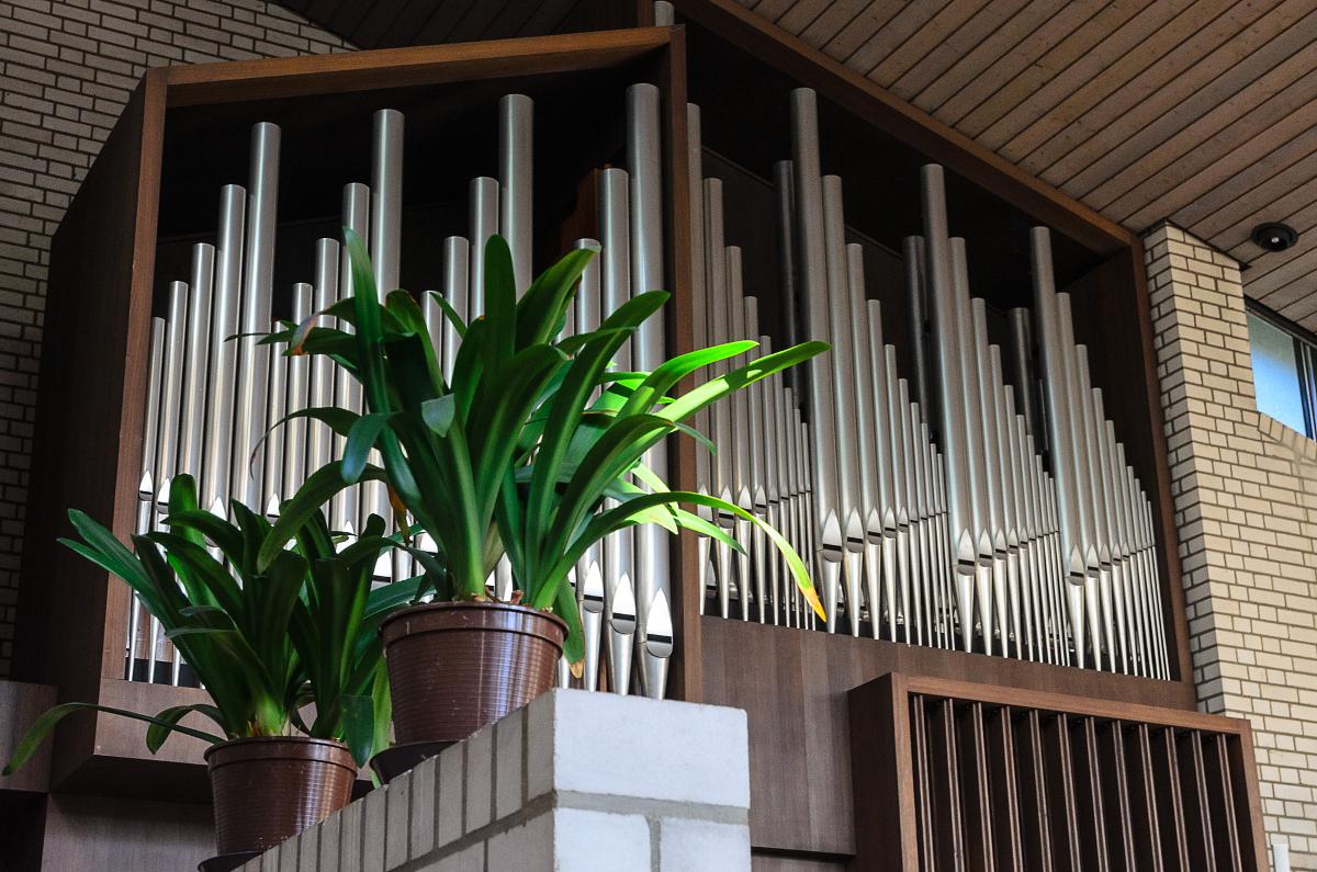 Lukaskirche Orgel