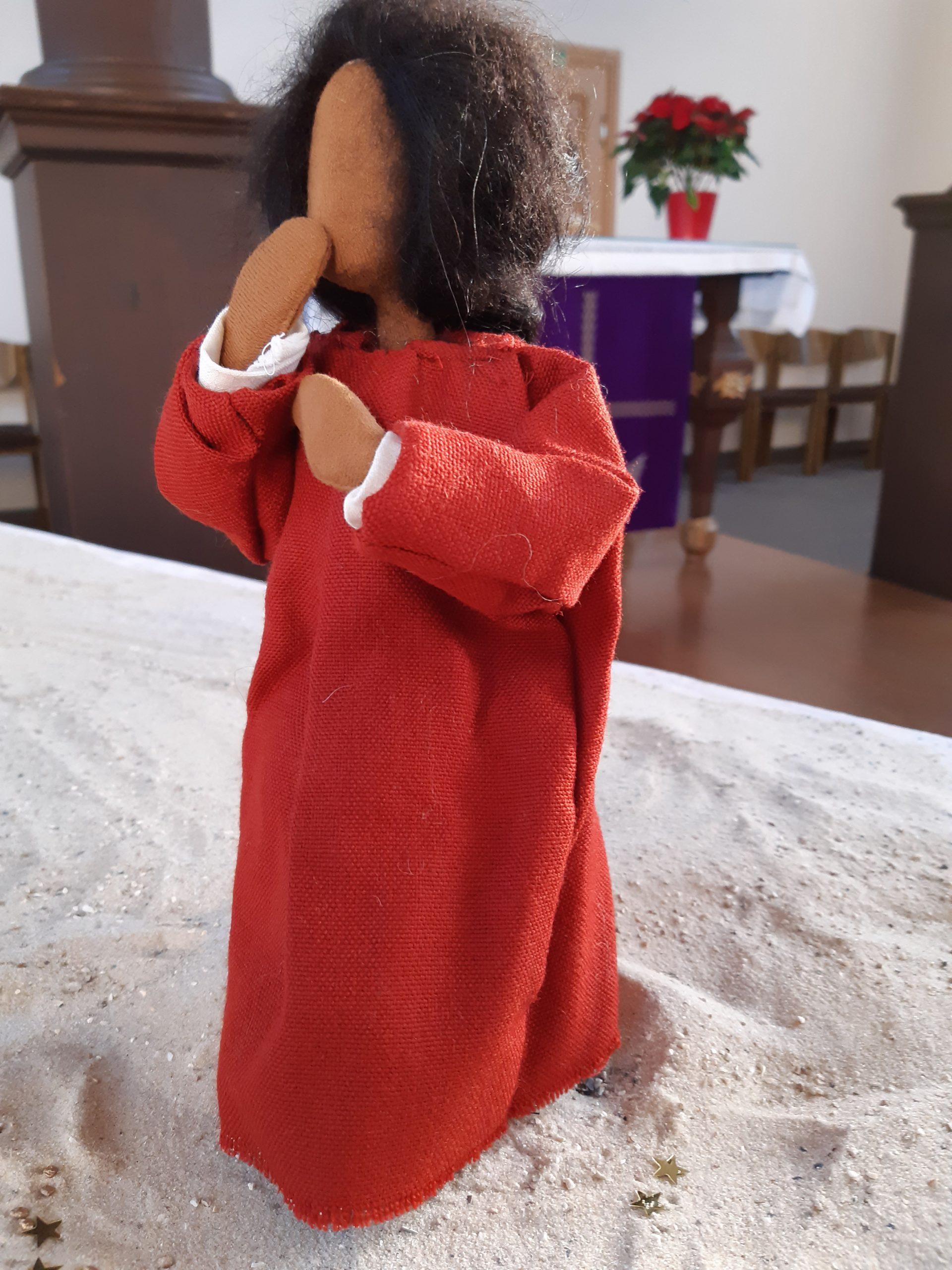 In der Martin-Luther-Kirche ist die Krippe in Bewegung
