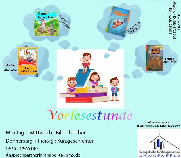 digitale Vorlesestunde für Kinder