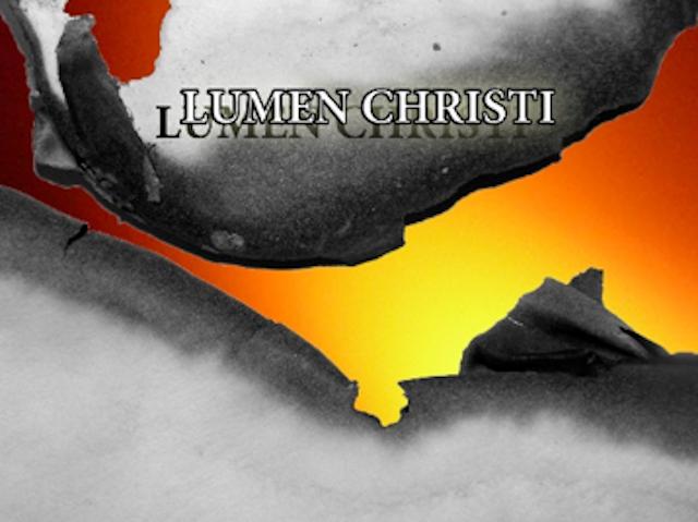 LUMEN CHRISTI aus der Erlöserkirche in der Osternacht 3. April 2021