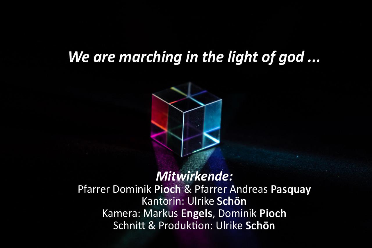 Kunstgottesdienst 'GOTToffenheit' mit Pfarrer Pioch & Pfarrer Pasquay – Sonntag 18.04.2021